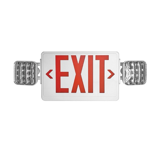 Quasar Exit Sign & Emergency Combo