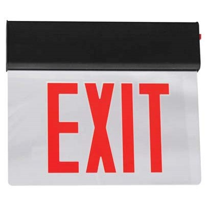 Signature Select Aluminum LED Edgelit Exit Sign